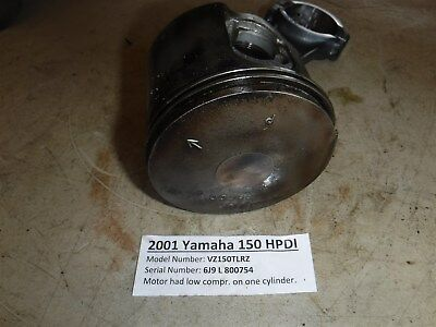 NIB Yamaha 150-175-200 HPDI Pro Piston-Ring Kit STD PORT 3.544 68F-11642-01-85