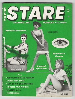 Stare Vol. 7 No 9 December 1961 - Betty( Bettie) Page and Lily St. Cyr