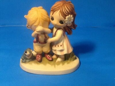 "Jody's World Jody Bergsma Figurine ""YOU PICK UP THE PIECES WHEN I FALL APART''"