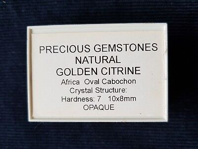 Precious Stones Natural African Golden Citrine Sealed New See picture