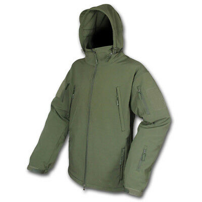 Viper Olive Green Waterproof Soft Shell Jacket Military Police Security Army