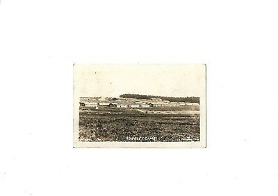 Sepia postcard of Rugeley Army Camp, Cannock Chase, p/m 1916