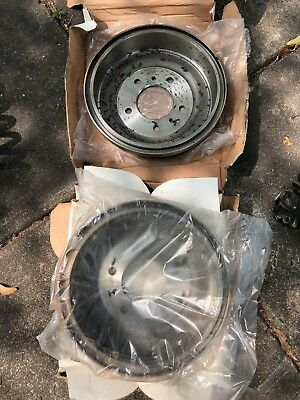 Pair of New Never Used Ford F250 Front Brake Drums