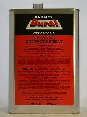 Dural No. 2672-5 Contact Cement (2- Gallons) Adhesive
