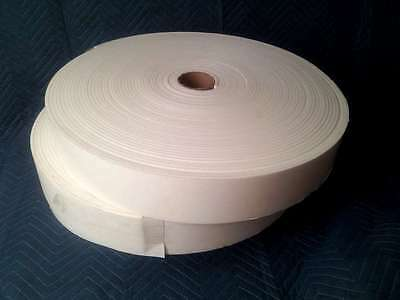 "(2) Foam Rolls - 1/4"" x 4"" x 150' Closed Cell Adhesive Sticky Back Peel & Stick"