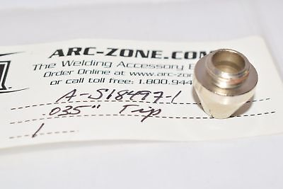 NEW ARC-ZONE Tip - 035'' (.9mm) For Pro-Cut 60 Systems with PCT-60 Plasma Arc Cu