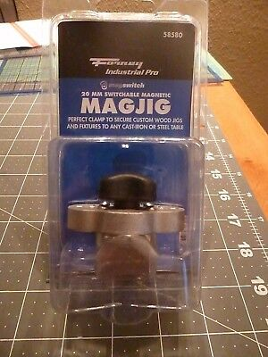 Forney 58580 Industrial Pro Magswitch 20mm MagJig - BRAND NEW