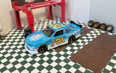 Custom 2017 #21 Daniel Hemric Blue Gate Bank 1:64 nascar diecast