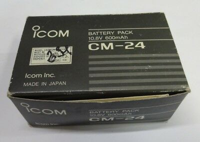 Battery pack ICOM CM-24 10.8v 600mAh