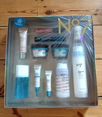 Boots No 7 Star Beauty Collection Gift Set Contents Worth £143 Protect/Perfect