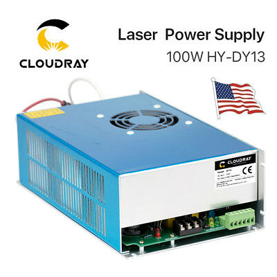 100W PSU CO2 Laser Power Supply DY13 for RECI W2 Laser Tube Engraver Cutter 110V