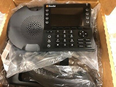 GRADE A+ REFURBISHED  ShoreTel IP485G IP VOIP PHONE COMPLETE IP 485G
