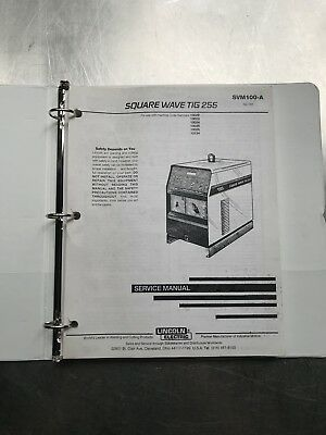 Lincoln Electric Square Wave TIG 255 Service Manual SVM100A