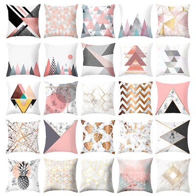 "18"" Throw Pillow Case Cushion Cover Sofa Polyester Bedding Set Home Decor kawaii"