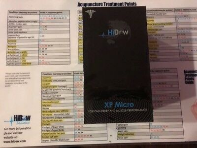 Hidow Acu XP Micro for Pain Relief and Muscle Performance New Limited