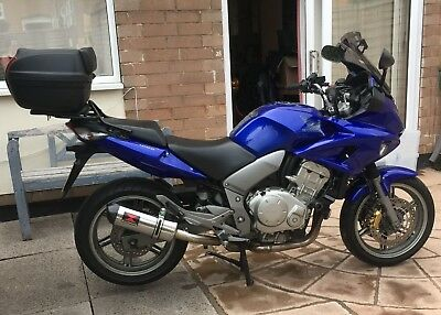 Honda CBF1000 A-7 Blue 2007 includes Topbox and Rack