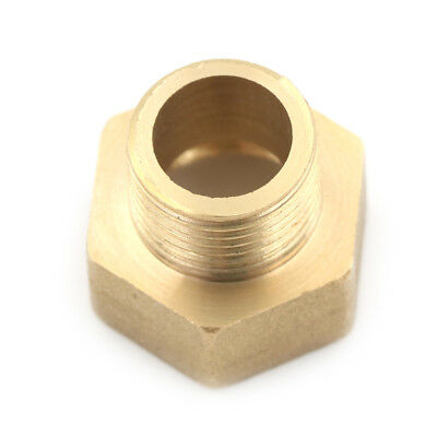 "Metal Brass Metric BSP G 3/4"" Female to NPT 1/2"" Male Pipe Fitting Adapter YNW"