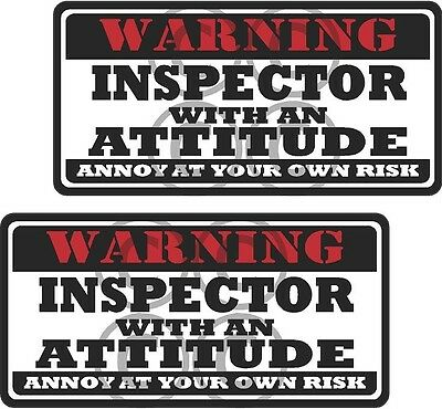 """2-3/"""" Welder funny Worker Warning Tools Auto Motorcycle Decal Hat Sticker WS1"""