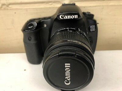 Canon EOS 60D 18.0MP Digital SLR Camera with EF 18 - 55 mm IS Lens.