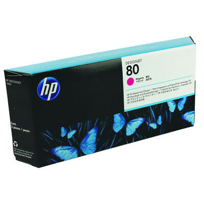 Genuine HP Printhead And Cleaner Designjet Product C4822A Magenta
