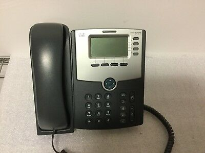 Used Cisco SPA504G SIP Unified VoIP IP PoE Phone 90-Day Warranty