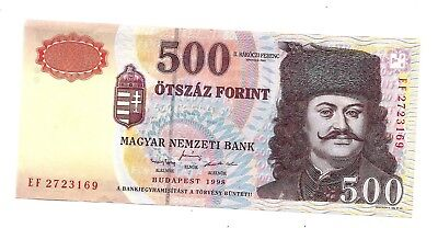 Hungary (P179a) 500 Forint 1998 XF+