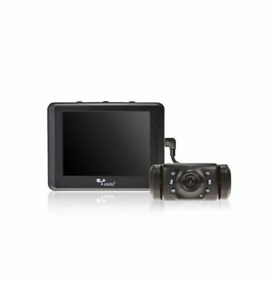 "Yada Digital Wired signal Backup Camera System with 3.5"" Color LCD Dash Monitor"