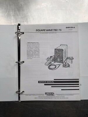 Lincoln Electric Square Wave Tig 175 Service Manual SVM126A