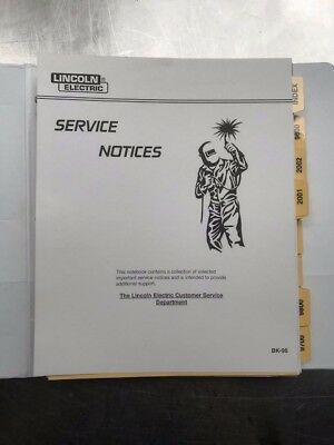 Lincoln Electric Service Notices BK96