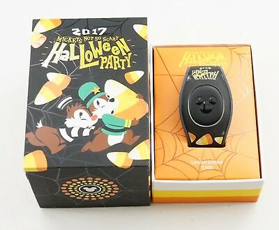 NEW Disney Mickey's Not So Scary Halloween Party 2017 Chip & Dale Magic Band