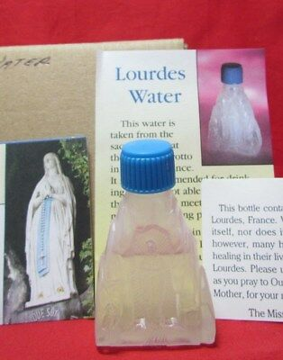 f1fddfff39a9 NEW BOTTLE OF Holy Water from Lourdes - £1.99 | PicClick UK