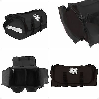 Dixigear First Responder On Call Trauma Bag W/ Reflectors Black
