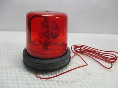 HUBBELL GRR-1-R-D1 Red Dome Beacon Light - 12V - 2.8A