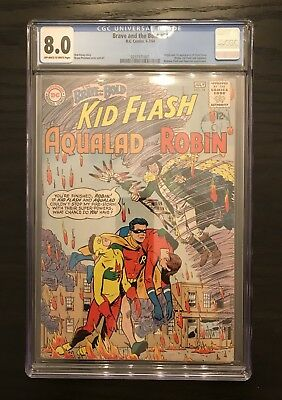 Brave and the Bold #54 CGC 8.0 - First Appearance Of The Teen Titans!  Mega Key!