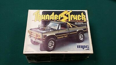 Old MPC Dodge Thunderstruck Pulling Truck Empy Box