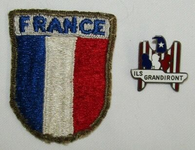 """WW2  French Pilot Trainee """"ILS GRANDIRONT"""" Pin By Cartier-France Beret Patch"""