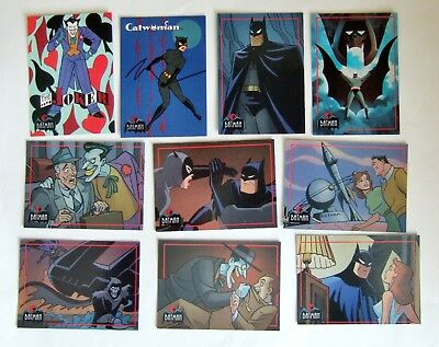 Batman Animated Series & Movie Trading Cards, Topps 1993