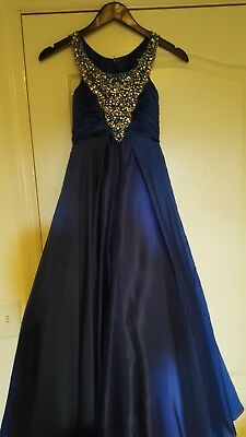 Sugar pageant dress size 10 girls