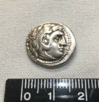 Ancient Coin Kings of Macedonia Alexander III The Great Silver Drachm