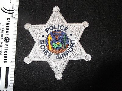 Idaho Boise Airport Police variation star patch vintage defunct merged with city