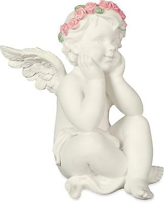 Thoughtful Cherub Angel Figurine Angelstar