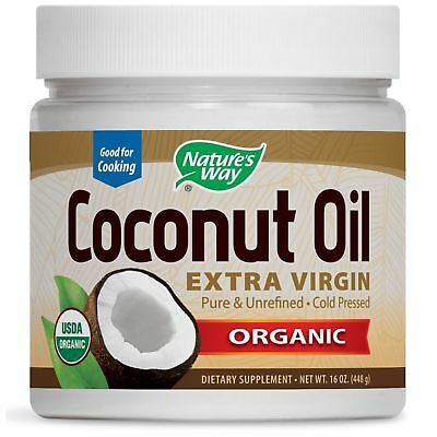 Nature's Way Organic Coconut Oil Extra Virgin 448g