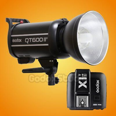 Godox QT-600IIM 600W 2.4G Studio Strobe Flash Light + X1T-S Transmitter 110V