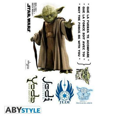 JM2111548STAR WARS - Stickers - scale 1 - YODA (blister)
