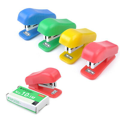 Super Mini Stapler Home Office Paper Document Bookbinding Machine Tool&Staple