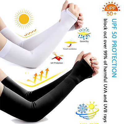For Men&Women to Cover Arms Cooling Sleeves Cycling, Driving,Outdoor Sports Golf