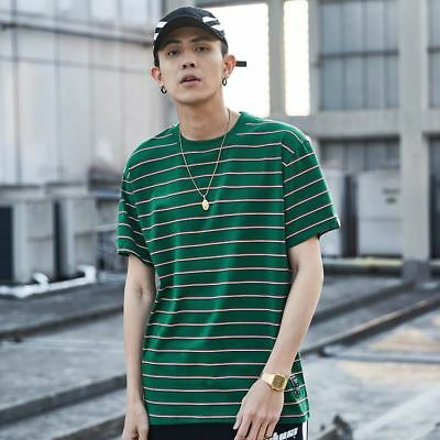 Men Short Sleeve Summer Hip Hop Tshirt Streetwear Casual Tops Tee