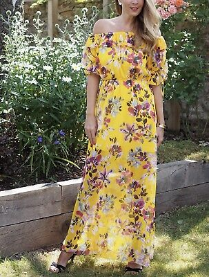 78ee1b87e66 LINOSA OFF The Shoulder Maxi Dress from French Connection, size 8