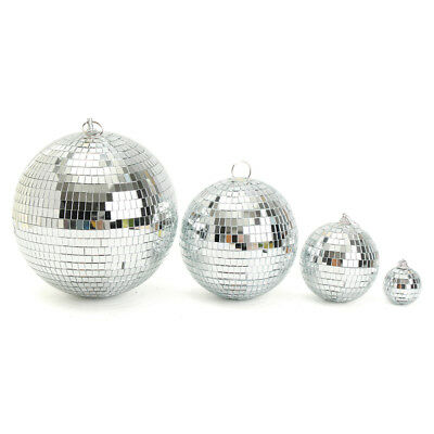 Large Mirror Glass Disco Ball DJ Dance Home Party Bands Club Stage Lighting NJH