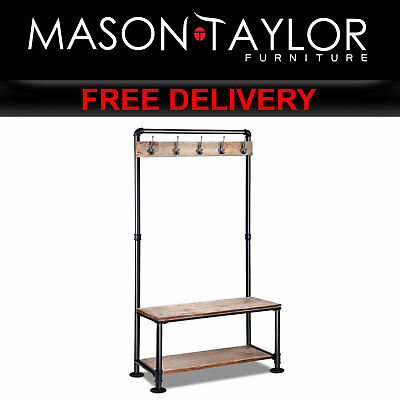 Mason Taylor DIY Rustic Shoe Rack and Hanger  PIPE-DIY-HANGER AU
